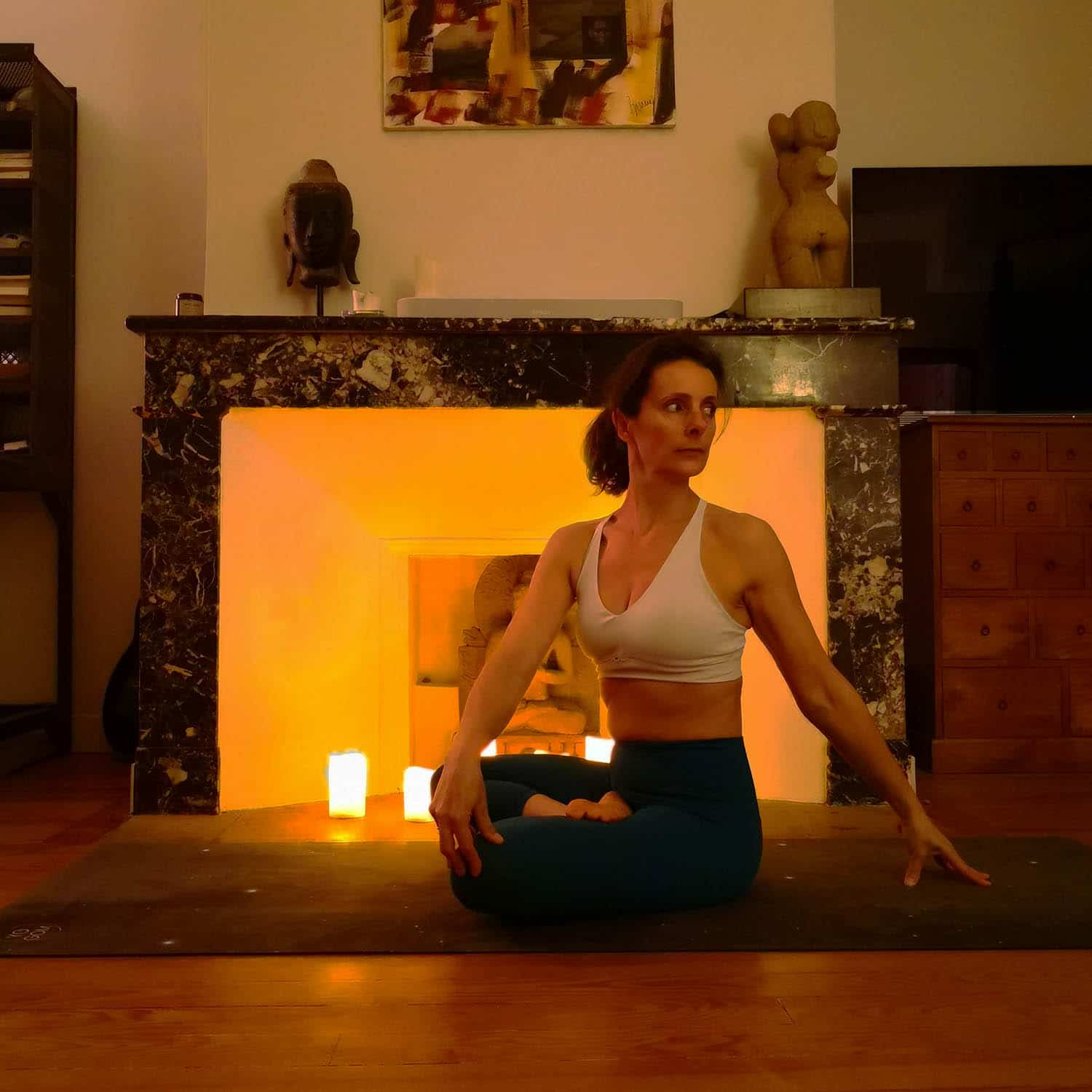 Cours Candlelight yoga Toulouse