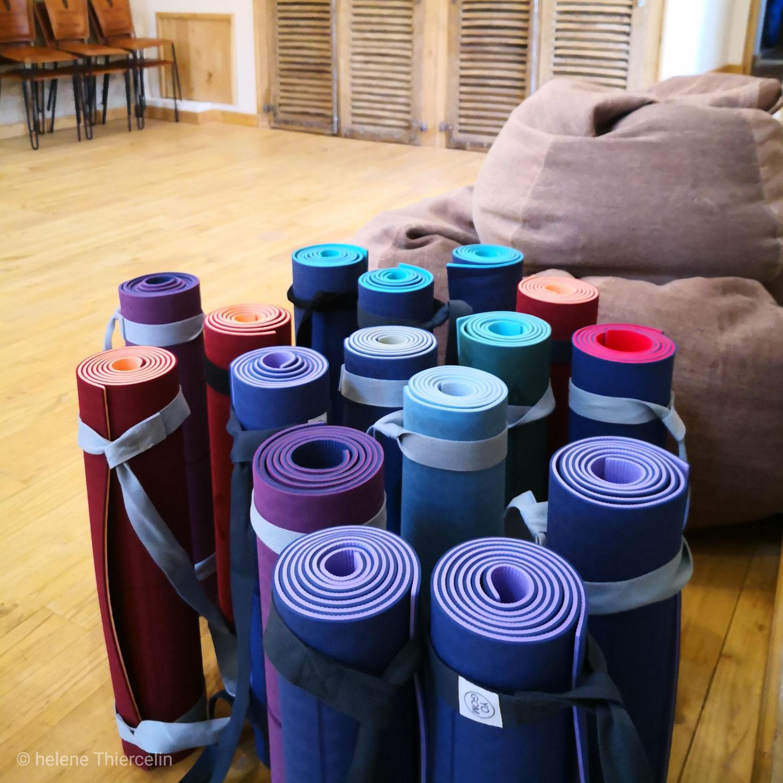 Tapis yoga yogom yoga vinyasa toulouse